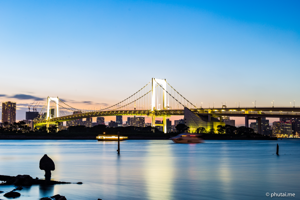 Rainbow Bridge Odaiba Tokyo